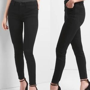 GAP Stretch True Skinny Black Jeans